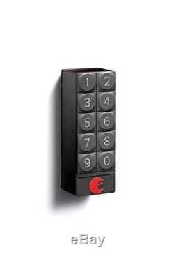 Août Smart Security Clavier De Verrouillage De Porte Sans Clé Ios App Android (gris Foncé)