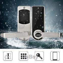 App Intelligent Bt Électronique De Verrouillage De Porte Sans Clé Mot De Passe Portable Étanche Verrouillage