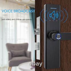 App Wifi Lock Biometric Fingerprint Smart Lock Mot De Passe Keyless Door Lock R3k2