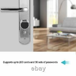 App Wifi Lock Biometric Fingerprint Smart Lock Mot De Passe Keyless Door Lock+rfid