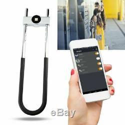 Biométrique D'empreintes Digitales Sans Clé Smart Lock Antivol De Verrouillage De Porte Cadenas De Sécurité