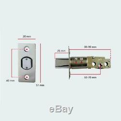 Bluetooth Numérique Intelligent De Verrouillage De Porte Sans Clé Tactile Mot De Passe App À Pêne Dormant