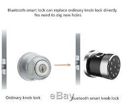 Bluetooth Smart D'empreintes Digitales Usb De Verrouillage De Porte Téléphone App IC Card Unlock Tactile Sans Clé