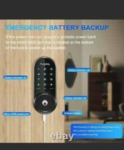 Bluetooth Smart Electronic Digital Door Lock Code Keyless Keypad Security Entry