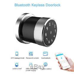 Bluetooth Smart Phone Card Passcode Serrure À Distance Unlock Verrouillage Sans Clef Verrouillage D'entrée