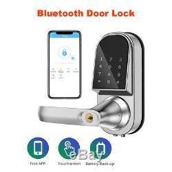Bluetooth Smart Verrouillage De Porte Serrure À Pêne Dormant Sans Clé D'entrée Sans Clé D'entrée Pour Office