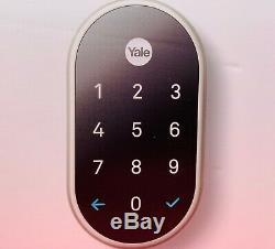 Brand New Nest X Yale Verrouillage Sans Clé Smart Lock Avec Y Compris Nest Connect Nib