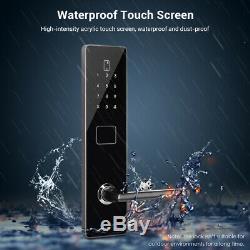 Bt-smart De Verrouillage De Porte Sans Clé De Sécurité Mot De Passe Carte Étanche Unlock Écran Tactile