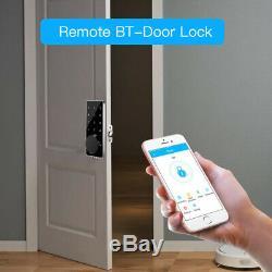 Bt-smart De Verrouillage De Porte Sans Clé Mot De Passe Accueil App Électronique Numérique Clé Écran Tactile
