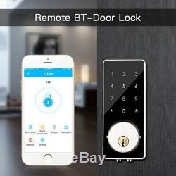 Bt-smart Door Security Lock Mot De Passe Sans Clé Électronique Numérique Antivol Téléphone