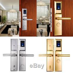 Cartes Rfid Biométrique D'empreintes Digitales De Verrouillage De Verrouillage De Porte Smart Home Verrouillage Sans Clef + 2 Clés