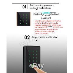 Clavier Électronique Sans Clé Us De Mot De Passe De Contact D'empreinte Digitale De Serrure Électronique Intelligente De Digitals Us