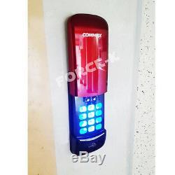 Commax Sans Clé De Verrouillage Cdl-s210 Numérique Intelligent + 4 Passcode Serrure Cartes Rfid Rouge
