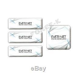 Crochet Mécanisme Evernet En250h Smart Keyless Lock Serrure Numérique Passcode + 4rfid