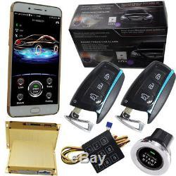 Démarrage À Distance De L'application Pour Téléphone Intelligent Avec Gps Et Déverrouillage Du Verrouillage À Distance Bluetooth Sans Clé