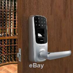 Écran Tactile Sans Clé Intelligent Levier De Verrouillage De Porte Cerradura De Puerta Táctil Sin Llave