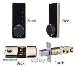 Écran Tactile Sans Clé Numérique Smart Code Carte De Verrouillage Électronique De Porte Numérique Plus M1