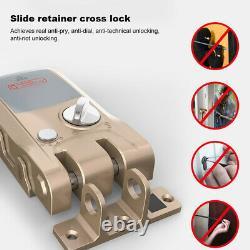 Electric Smart Keyless Door Lock Anti-theft Phonebluetooth With Remote Control