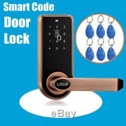 Electronic Code De Sécurité Sans Clé Clavier Smart Entry De Verrouillage De Porte 11 Carte Rfid
