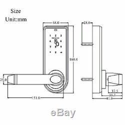 Electronic Code De Sécurité Sans Clé Clavier Smart Entry Door Lock 11 Rfid