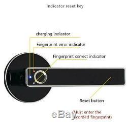 Électronique D'empreintes Digitales Smart Wireless Bluetooth De Verrouillage De Porte Sans Clé En Acier De Sécurité