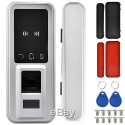 Empreinte Digitale De Porte Keyless Lock Intelligente Numérique Biométrique + Cartes + Mot De Passe