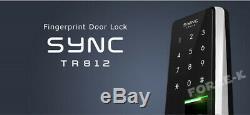 Empreinte Digitale Sync Tr812 Sans Clé Serrure De Verrouillage Numérique Intelligent Biométrique + Pin D'entrée