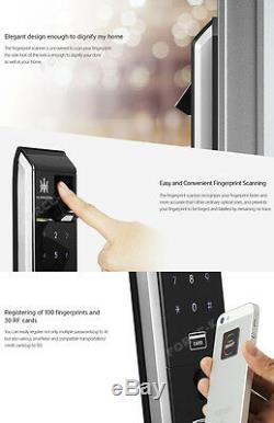 Empreintes Digitales À Distance Smart Control De Verrouillage De Porte Sans Clé Gardien Tm900 Goupille + Rfid