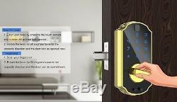 Empreintes Digitales De Verrouillage De Porte, Verrou Smart Clavier Tactile Sans Clé Numérique De Verrouillage De Porte