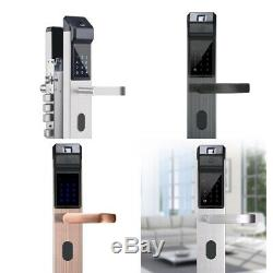 Empreintes Digitales Et Écran Tactile Sans Clé Intelligent De Verrouillage De Porte, Fit Épaisse Porte