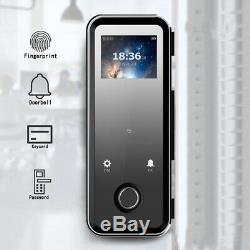 Empreintes Digitales Intelligente De Verrouillage De Porte Sans Clé Accueil Carte Électronique Clavier À Code Écran Tactile