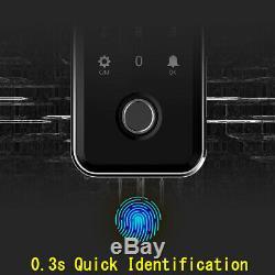 Empreintes Digitales Intelligente De Verrouillage De Porte Sans Clé Mot De Passe Accueil Sécurité Charging Usb Numérique