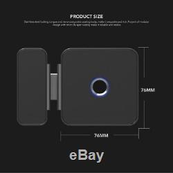 Empreintes Digitales Smart Lock De Verrouillage Sans Clé Avec Porte En Verre App Bluetooth