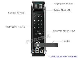 Empreintes Digitales Unicor Onu-serrure 9000bs-f Numérique Intelligent Sans Clé De Verrouillage Passcode + Rfid