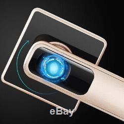 En Acier Inoxydable D'empreintes Digitales Smart Lock Biometric Porte-touch Sans Clé À Chaud Sécurité
