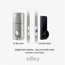 En Alliage De Zinc Smart Lock Bluetooth Activé Sans Clé Accueil Entrée Smartphone Appartement