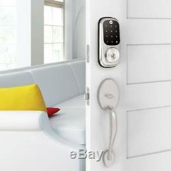 Entrée Sans Clé Assure Smart Lock De Yale Assure Smart Lock Fonctionne Avec Alexa, Nickel Yrd226az