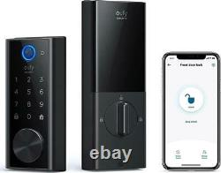 Eufy Security Smart Lock Touch Et Wi-fi, Détecteur D'empreintes Digitales, Entrée Sans Clé