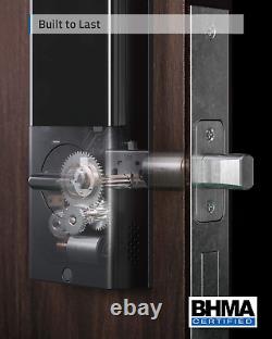 Eufy Security Smart Lock Touch Wi-fi, Scanner D'empreintes Digitales, Porte D'entrée Sans Clé