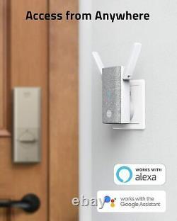 Eufy Smart Lock Touch, Nickel Fingerprint Verrouillage De Porte D'entrée Sans Clé Ip65 Nouveau