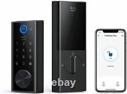 Eufy Smart Lock Touch & Wi-fi, Détecteur D'empreintes Digitales Verrouillage De Porte Sans Clé Nouveau