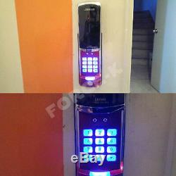 Evernet Lh500-n Sans Clé Smart Lock Numérique De Sécurité Serrure D'entrée Passcode Rouge