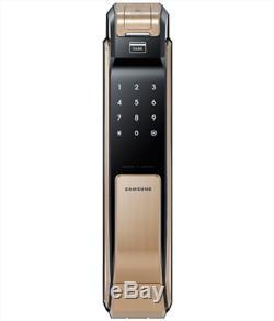 Express Samsung Ezon Shs-p910 Serrure De Porte Intelligente Numérique Sans Clé Push & Pull