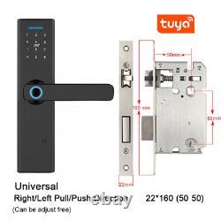 Fingerprint Door Lock Smart Digital Door Lock Code Keyless Keypad Security Entry