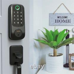 Fingerprint Door Lock Smart Touchscreen Keyless Electronic Keypad Digital Black
