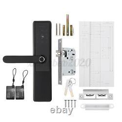 Fingerprint Smart Wifi Bluetooth Door Lock Keyless Security Waterproof Keypad Fr