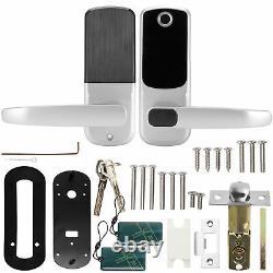 Fingerprint Touchscreen Keyless Smart Door Lock Password Entry Handle Lock Set