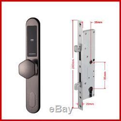 Free Dhl Électronique Porte Coulissante Smart Lock Numérique Code Clavier Sans Clé Porte