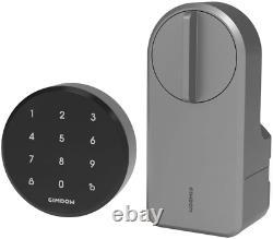 Gimdow Smart Lock, Verrouillage Sans Clef De Verrouillage De Porte Avec Aes 128 Bits Encryptés, Extra