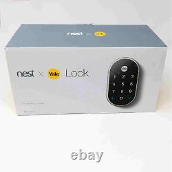 Google Nest X Yale Infalsifiable Smart Lock Pour Entrée Sans Clé Avec Nest Connect